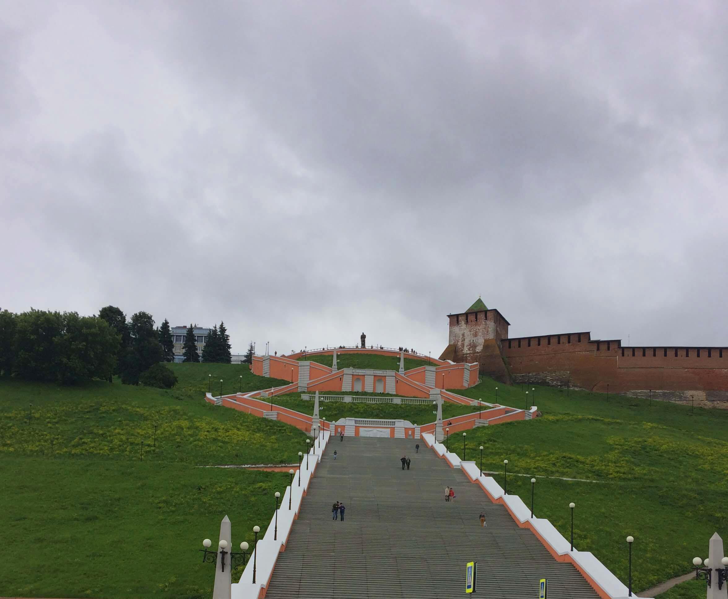 Чкаловская лестница Нижний Новгород