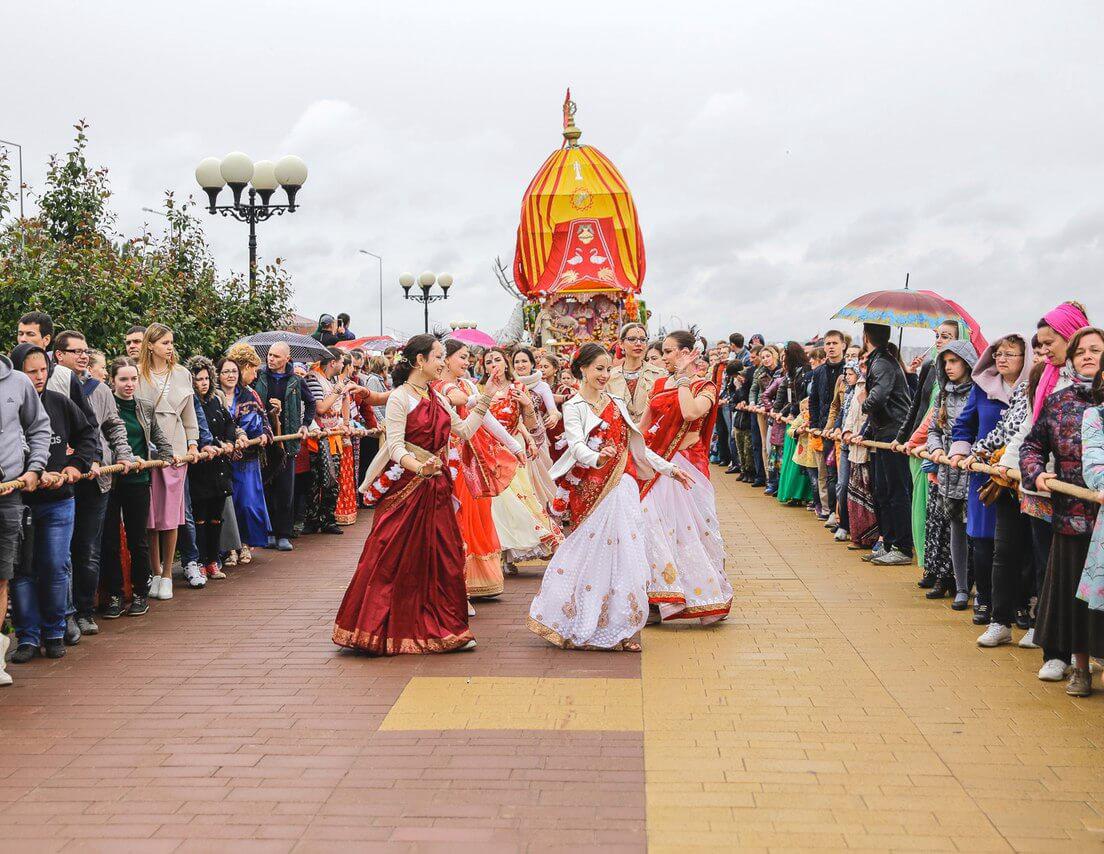 Ратха Янтра в Нижнем Новгороде в 2017 году