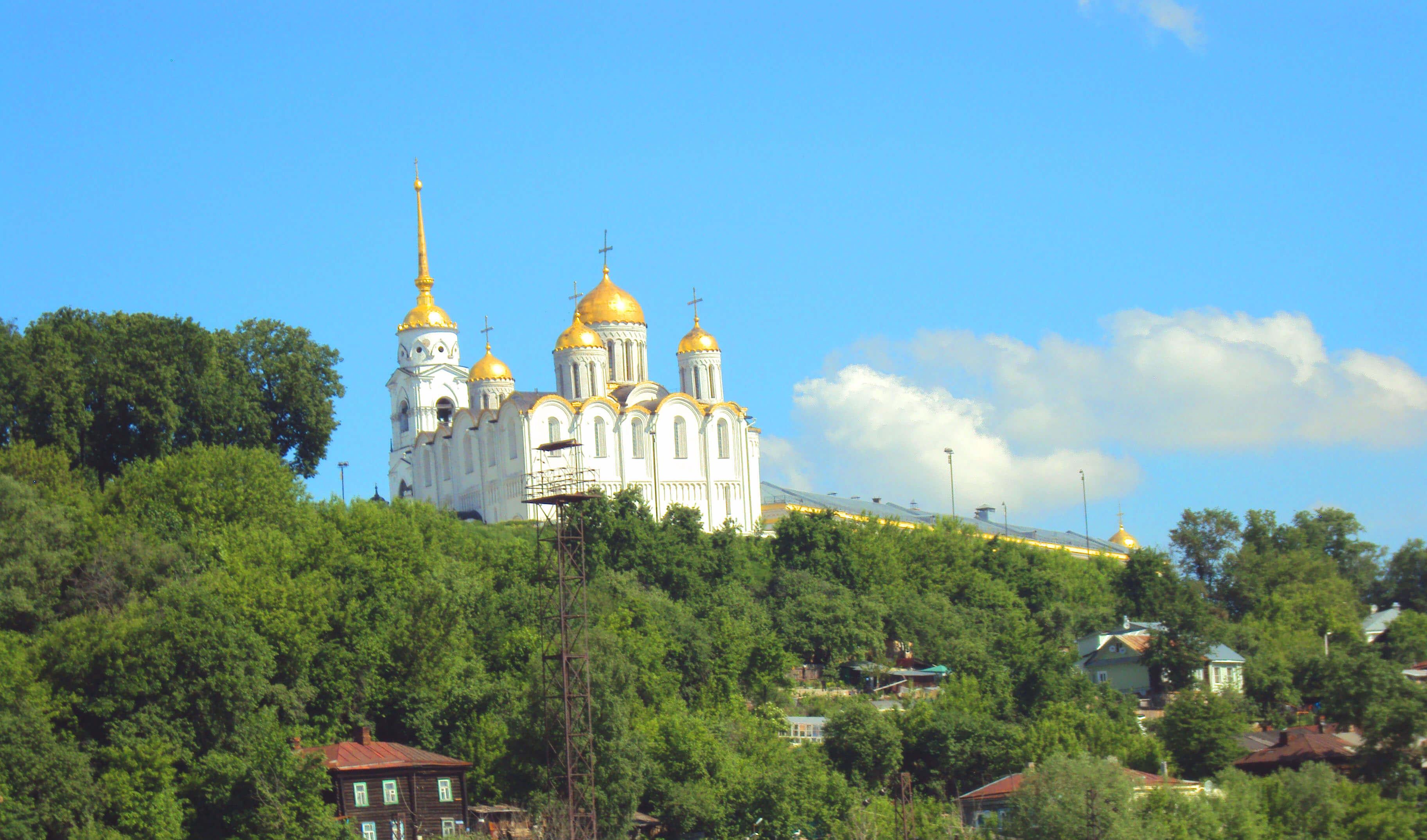 Город Владимир, церковь