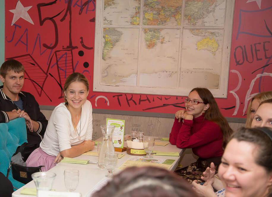 В кафе Нижний Новгород